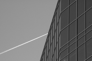 Abstract of a Denver skyscraper