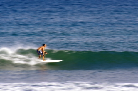 Surfing the North Shore